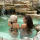 Faith Nketsi showcases blonde hair while on vacation