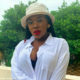 Gugu Gumede showcases monochrome outfit and bucket hat