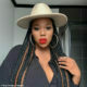 Gugu Gumede showcases red lip and nose ring in latest Instagram pictures