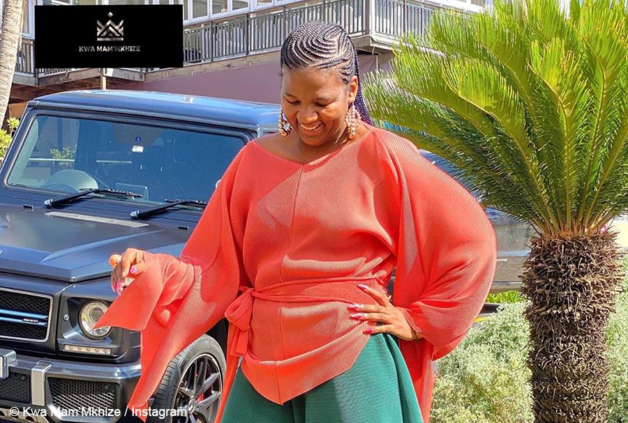 Kwa Mam'Mkhize's Shauwn Mkhize showcases colourful ensemble