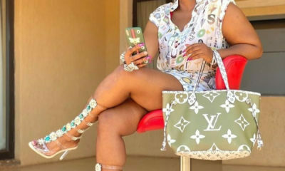 Kwa Mam'Mkhize, Shauwn Mkhize showcases high-top gladiator heels