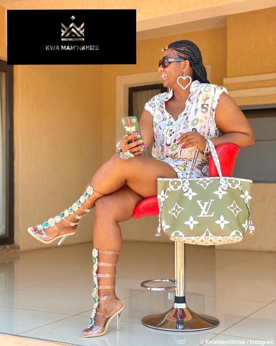 Kwa Mam'Mkhize, Shauwn Mkhize showcases high-top gladiator heels