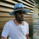 Laduma Ngxokolo partakes in the Phoyisa challenge from New York