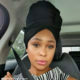 Minnie Dlamini Jones wears black headscarf in recent car selfie