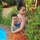 Minnie Dlamini Jones introduces niece to her followers while visiting family in Durban