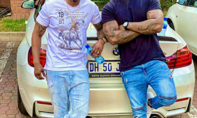 DJ Tira works on new music with Afrotainment signee, NaakMusiQ