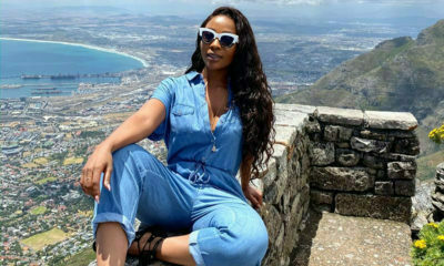 Pearl Modiadie shares images from recent trip to Cape Town