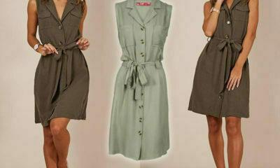 Rage showcases safari-chic utility dress