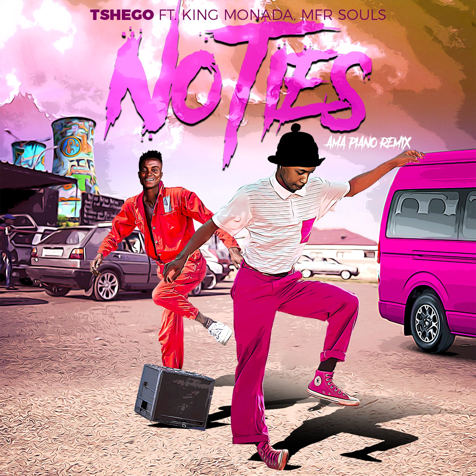 Tshego releases No Ties (Amapiano Remix), featuring King Monada and MFR Souls