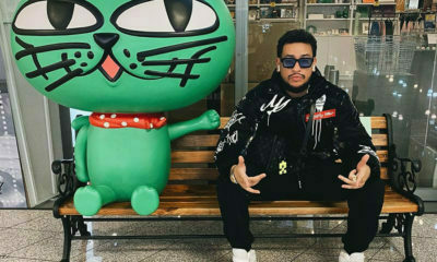 AKA signals a Johannesburg taxi in Seoul, announcing his return to South Africa