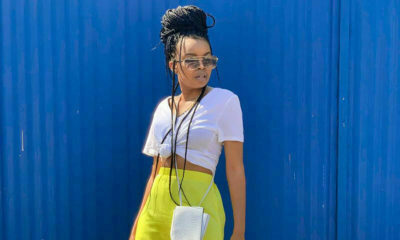 Edgars showcases casual yellow and white outfit