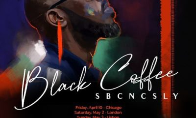 Black Coffee announces dates for upcoming SBCNCSLY international tour