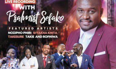Joyous Celebration endorses member, Psalmist Sefako's upcoming The Latter Rain concert