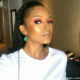Ayanda Thabethe showcases make-up look by her sister, Lungile Thabethe