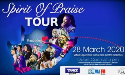 Benjamin Dube announces new Spirit Of Praise DVD and CD will be recorded in July