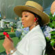 Boity Thulo wears all-white outfit to Match In Africa in Cape Town