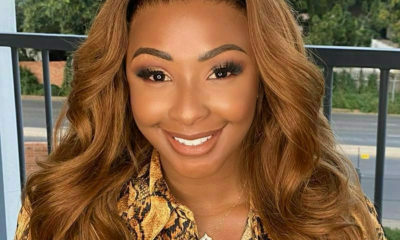 Boity Thulo showcases honey blonde wig from The Don Hair