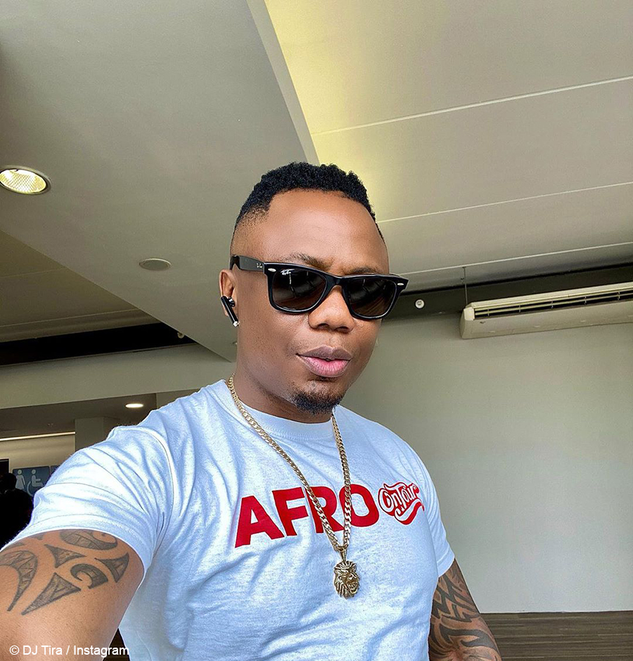 DJ Tira attends work commitment at Huawei Office Park in military green outfit