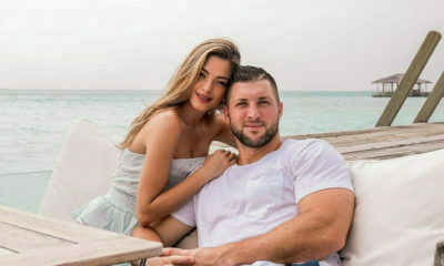 Demi-Leigh and Tim Tebow celebrate one-month wedding anniversary