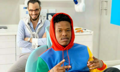 Nasty C attends dental appointment with Dr Smile in colourful outfit