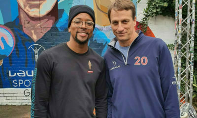 Maps Maponyane travels to Germany with Laureus
