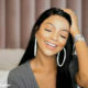 Mihlali Ndamase promotes latest YouTube video in subtle hair and makeup