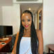 Ntando Duma wears braids and soft glam makeup to SONA 2020