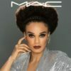 Pearl Thusi promotes MAC Cosmetics in full glam makeup