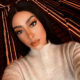 Sarah Langa Mackay showcases neutral makeup look at New York Fashion Week