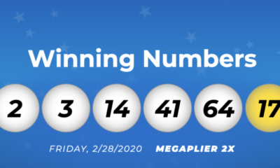 USA Mega Millions Winning Numbers: 28 February 2020