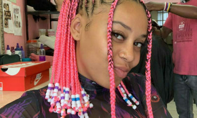 Sho Madjozi debuts pink cornrows for NBA AllStar weekend