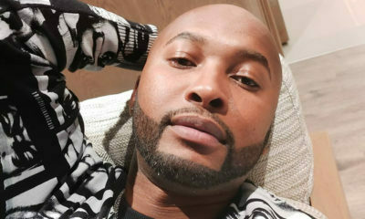 Vusi Nova accessorises all-white outfit with traditional-inspired neckpieces