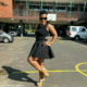 Zodwa Wabantu wears black and gold outfit to Paras' wedding