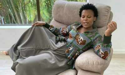 Zodwa Wabantu showcases custom-made dress from Urban Zulu