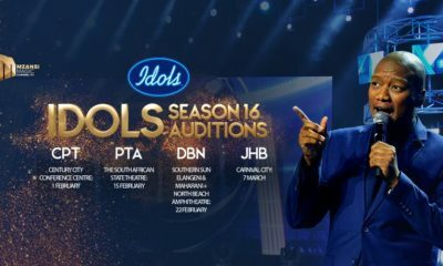 Idols SA season 16 auditions to take place in Pretoria and Durban this February