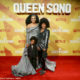 Pearl Thusi attends Queen Sono premiere with family