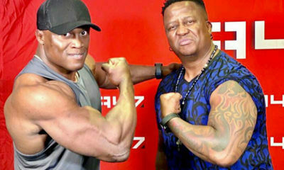 DJ Fresh and Bobby Lashley