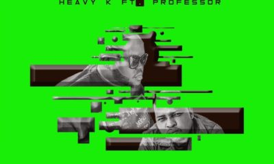Heavy K continues to tease upcoming release of his new single, Tsamaya, featuring Professor