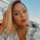 Jessica Nkosi wears simplistic makeup look to Veuve Clicquot Polo