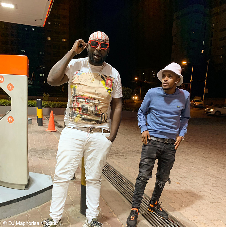 DJ Maphorisa unbothered by people poking fun at his poor command of English