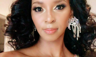 Katlego Danke showcases hair styled by Gomora hair department at DStv Mzansi Viewers' Choice Awards