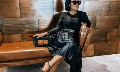 Kefilwe Mabote wears all-black to GBV Response Plan launch