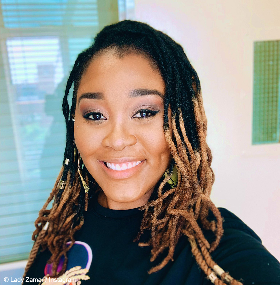 Lady Zamar 's selfie flooded with commentary on ongoing legal battle with ex-boyfriend, Sjava