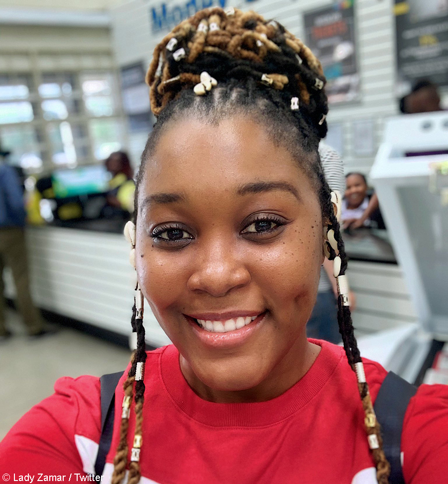 Lady Zamar plans to go makeup-free for the duration of the national lockdown