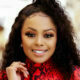Lerato Kganyago styles hair in high-top ponytail for Gert-Johan Coetzee's perfume launch