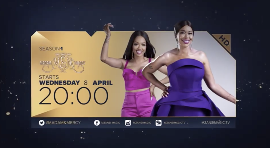 Evodia and Mercy Mogase to star in Mzansi Magic's new reality show, Madam And Mercy