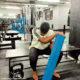 Maps Maponyane returns to the gym