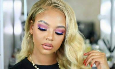 Mihlali Ndamase showcases blue eyeliner in recent Instagram post