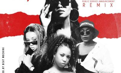 Ms Supa - P.S.A - Public Service Announcement Remix ft Gigi Lamayne x Moozlie x Nelz