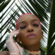 Nandi Madida adds pearl detail to pink makeup look, ahead of birthday celebration